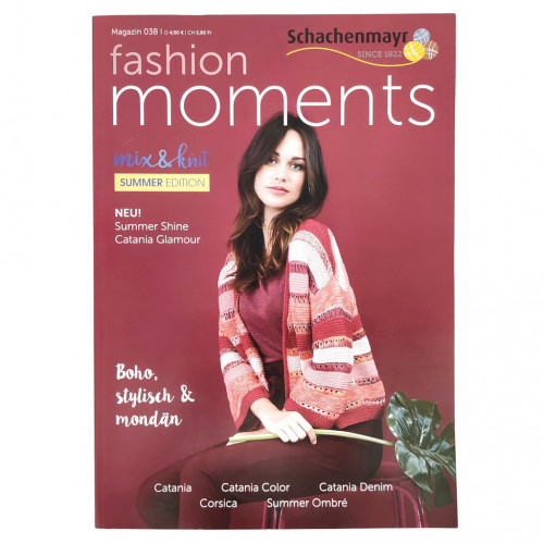 Журнал Schachenmayr Magazin 038 - Fashion moments