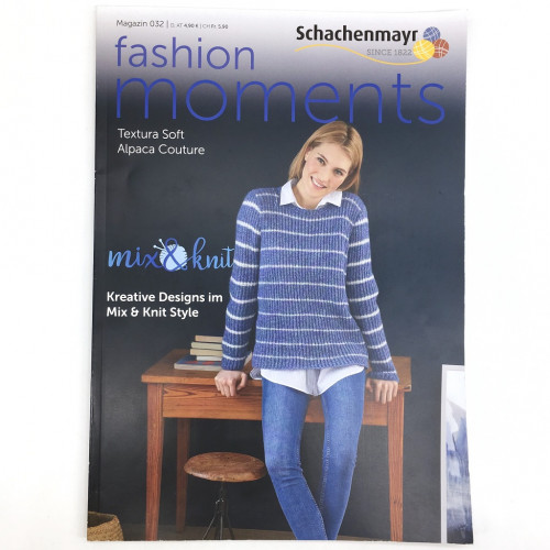 Журнал Schachenmayr Magazin 032 - Fashion moments